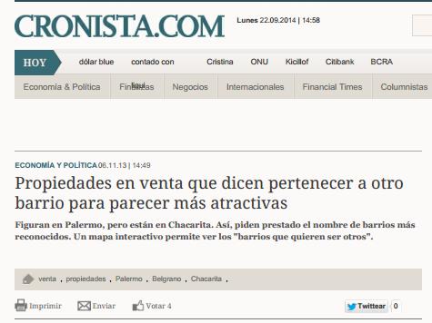 6/11/2013 - El Cronista