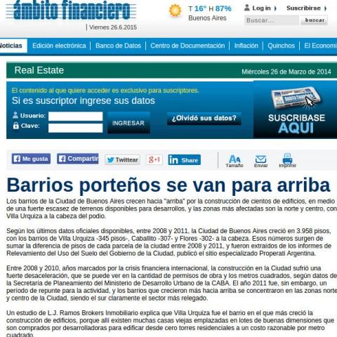 22/3/2014 - Ámbito Financiero