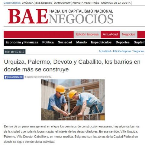 15/4/2015 - Diario BAE