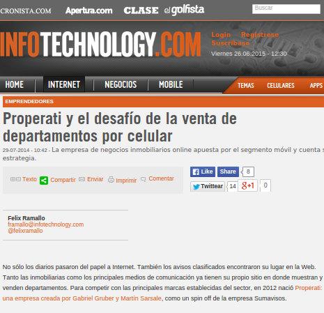 28/7/2014 - Infotechnology