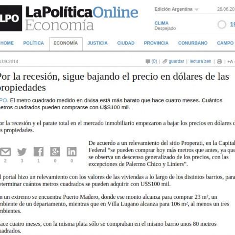 4/9/2014 - La Política Online