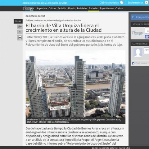 21/3/2014 - Tiempo Argentino