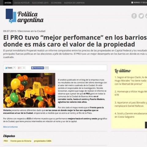 9/7/2015 - Política Argentina
