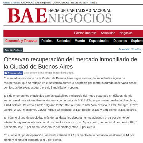 Diario BAE - 7/8/2015