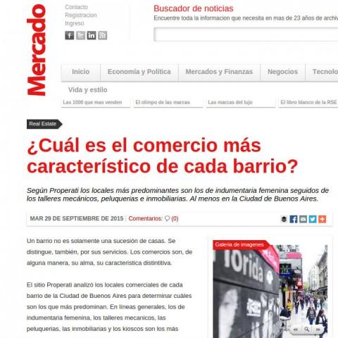 Revista Mercado - 29/9/2015