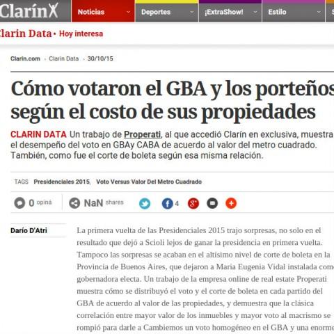 30/10/2015 - Clarín