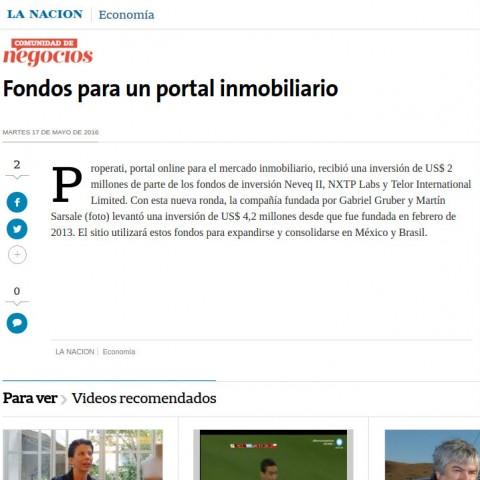 17/05/2016 - La Nación