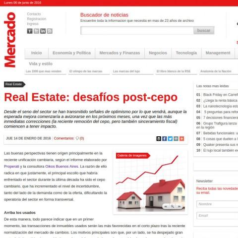 14/01/2016 - Revista Mercado