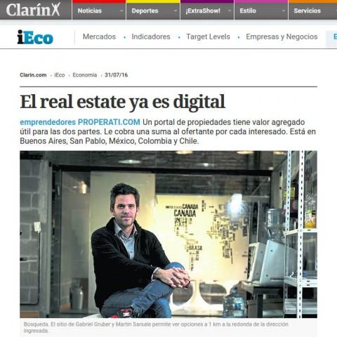 31/07/2016 - iEco Clarín