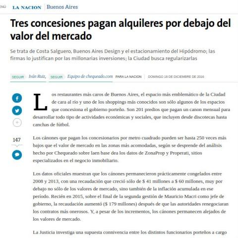 18/12/2016 - La Nación