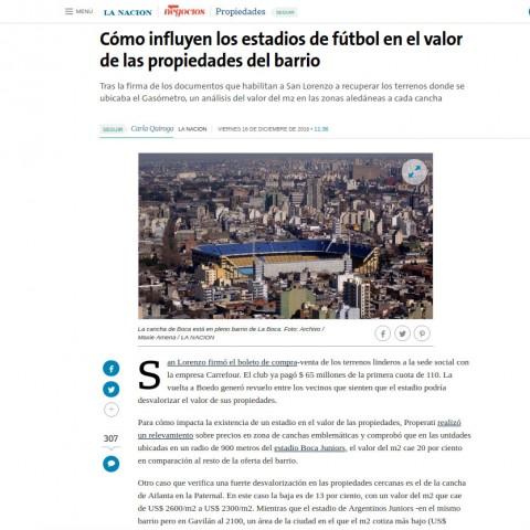 16/12/2016 - La Nación