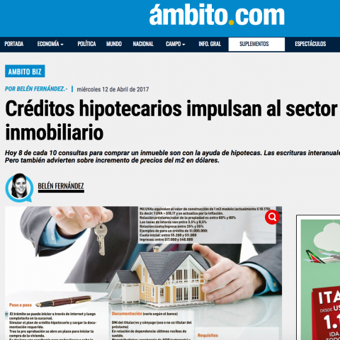 11/04/2017 - Ambito Financiero