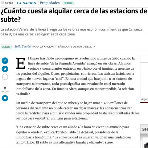 12/05/2017 - La Nación