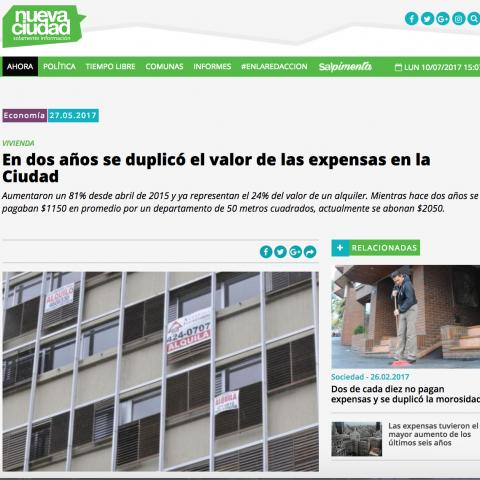 27/05/2017 - Nueva Ciudad