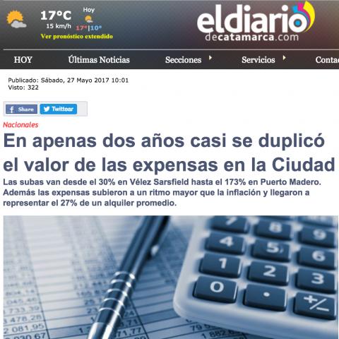 27/05/2017 - El Diario de Catamarca