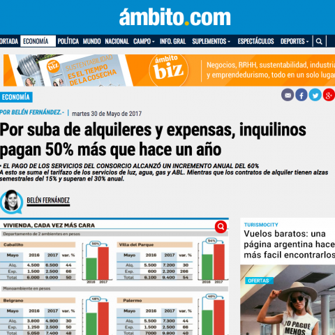 30/05/2017 - Ambito Financiero