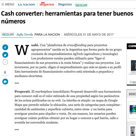 31/05/2017 - La Nación