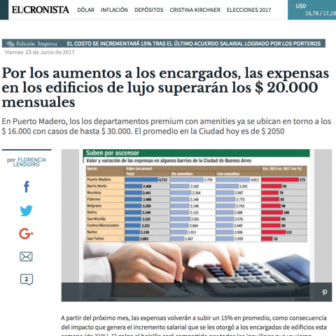 23/06/2017 - El Cronista