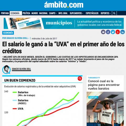 05/07/2017 - Ambito Financiero
