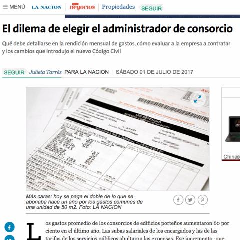 01/07/2017 - La Nación