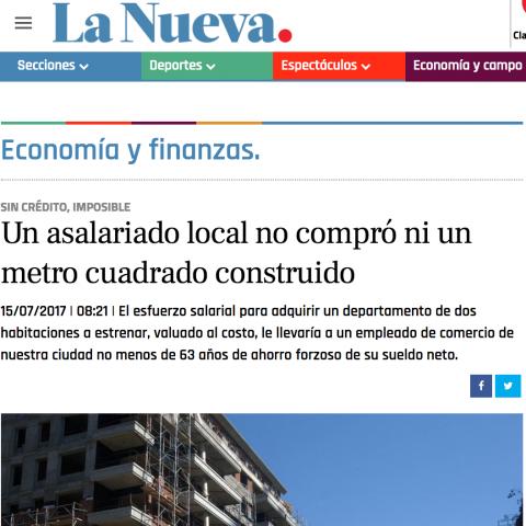 14/07/2017 - La Nueva Provincia