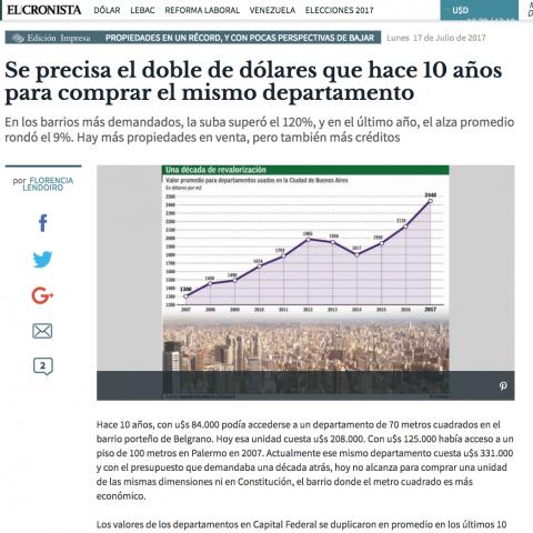 17/07/2017 - El Cronista