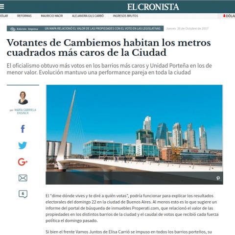 25/10/2017 - El Cronista