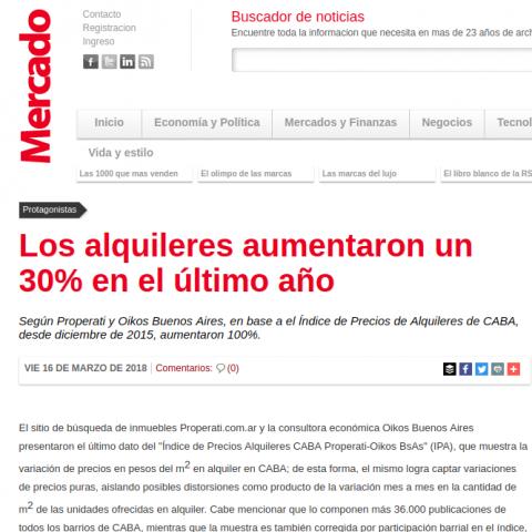 16/03/2018 - Mercado
