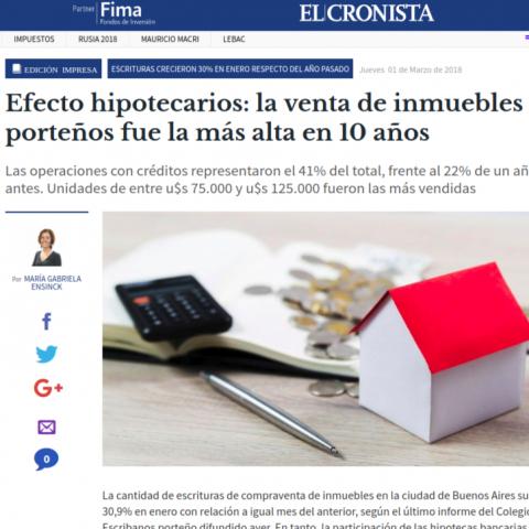 01/03/2018 - El Cronista