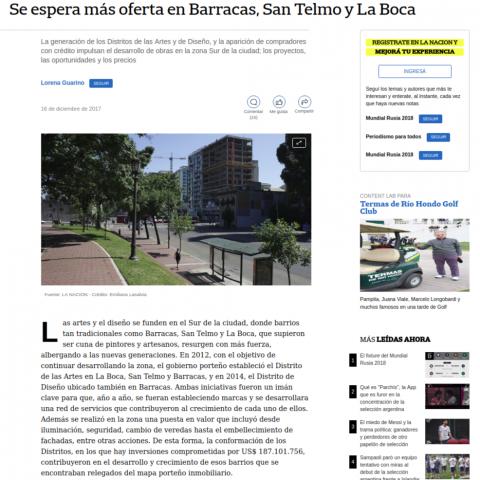 16/12/2017 - La Nación